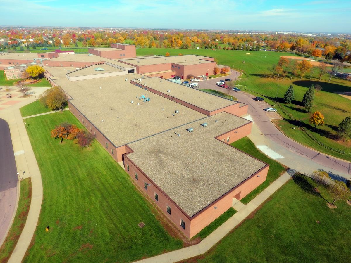 Roosevelt High School Guarantee Roofing Amp Sheet Metal